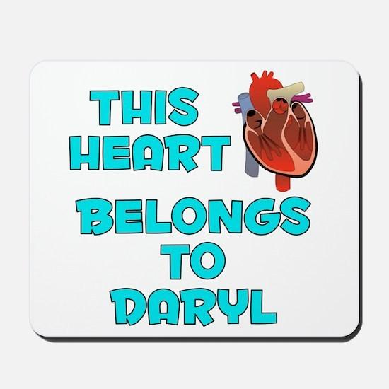 This Heart: Daryl (B) Mousepad