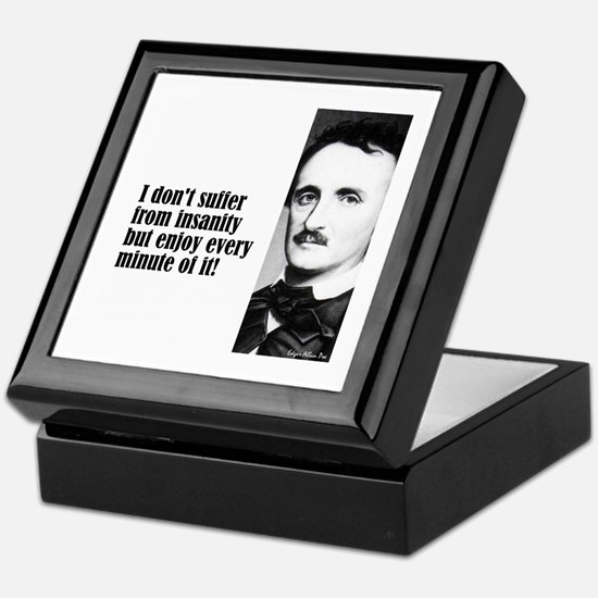 "Poe ""I Don't Suffer"" Keepsake Box"