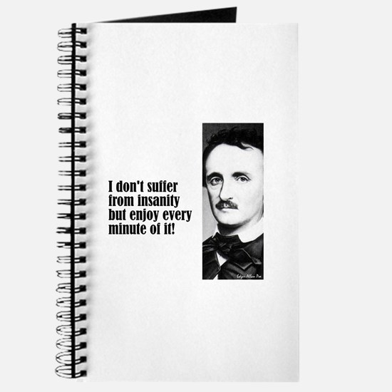 "Poe ""I Don't Suffer"" Journal"