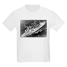 USS West Virginia Ship's Image T-Shirt