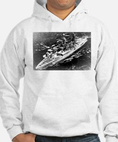 USS West Virginia Ship's Image Hoodie
