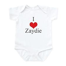 I Love (Heart) Zaydie Infant Bodysuit