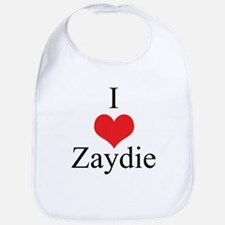 I Love (Heart) Zaydie Bib