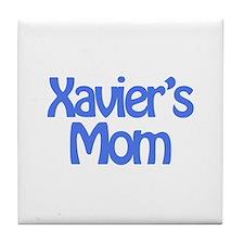 Xavier's Mom Tile Coaster