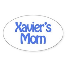 Xavier's Mom Oval Decal