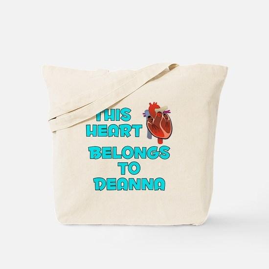 This Heart: Deanna (B) Tote Bag