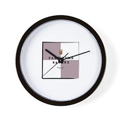 Part-time Savant Check Wall Clock