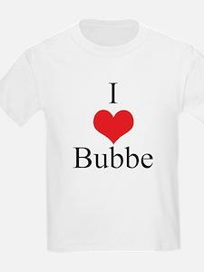 I Love (Heart) Bubbe T-Shirt
