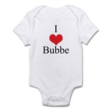 I Love (Heart) Bubbe Infant Bodysuit