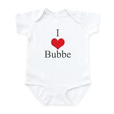 I Love (Heart) Bubbe Onesie