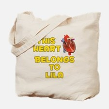 This Heart: Lila (A) Tote Bag