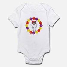 Christmas Ornaments Sheltie Infant Bodysuit