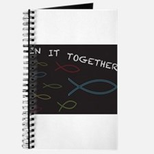 Christian Fish in it Together Journal