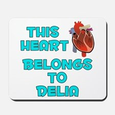 This Heart: Delia (B) Mousepad