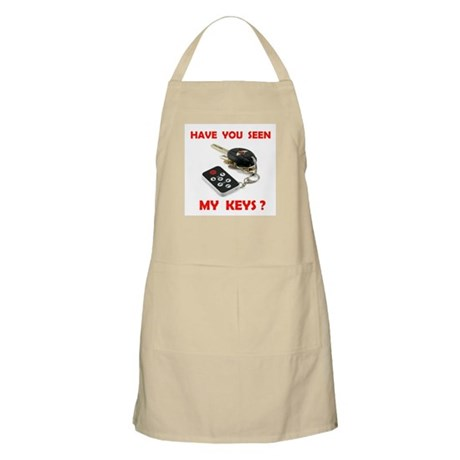 LOST KEYS BBQ Apron