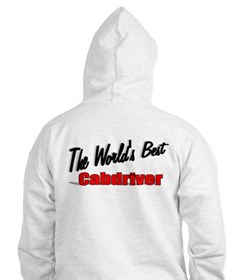 """The World's Best Cabdriver"" Hoodie"