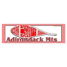 Adirondack Mts Bumper Bumper Sticker