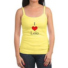 I Love (Heart) Lolo Jr.Spaghetti Strap