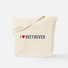 I Love Beethoven Tote Bag