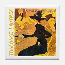 Divan Japonais Tile Coaster