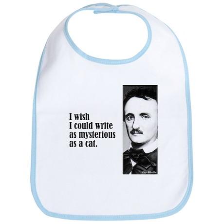 "Poe ""As Mysterious"" Bib"