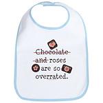 Anti Valentine Chocolate Lover Bib