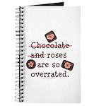 Anti Valentine Chocolate Lover Journal