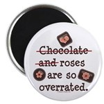 Anti Valentine Chocolate Lover Magnet