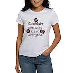 Anti Valentine Chocolate Lover Women's T-Shirt