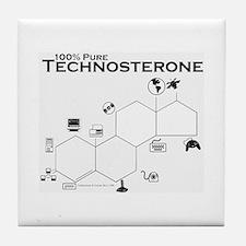 100% Technosterone Tile Coaster