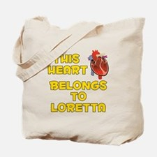 This Heart: Loretta (A) Tote Bag