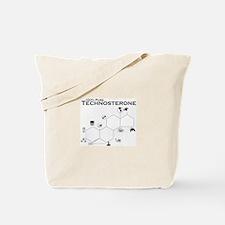 100% Technosterone Tote Bag