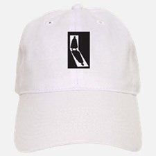 Jack the Ripper Shadow In Doorway Baseball Baseball Cap