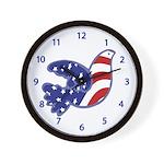 Flying Dove Wall Clock