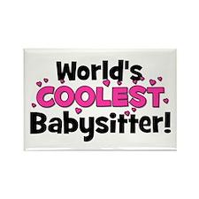 World's Coolest Babysitter! Rectangle Magnet