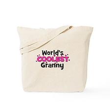 World's Coolest Granny!  Tote Bag