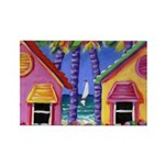 Shuttered Beach Cottages Magnet