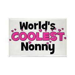 World's Coolest Nonny! Rectangle Magnet