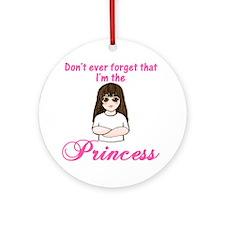 I'm the Princess (P.L.) Keepsake (Round)