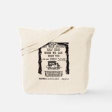 Tombstone Undertakers Tote Bag