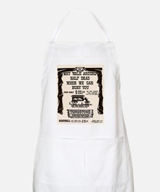 Tombstone Undertakers BBQ Apron
