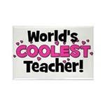 World's Coolest Teacher! Rectangle Magnet