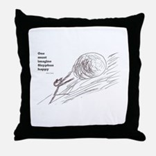 Sisyphus Throw Pillow