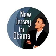 New Jersey for Obama big button