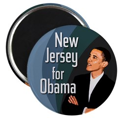 New Jersey for Obama Magnet