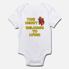 This Heart: Lydia (A) Onesie