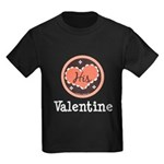 His Valentine Valentine's Day Kids Dark T-Shirt