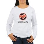 His Valentine Valentine's Day Women's Long Sleeve
