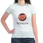 His Valentine Valentine's Day Jr. Ringer T-Shirt