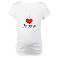 I Love (Heart) Papaw Shirt